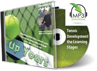 Tennis Development - the Learning Stages